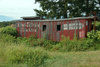 caboose - photo/picture definition - caboose word and phrase image