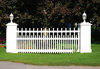 picket fence section - photo/picture definition - picket fence section word and phrase image