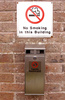 cigarette disposal point - photo/picture definition - cigarette disposal point word and phrase image