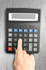 electronic calculator - photo/picture definition - electronic calculator word and phrase image