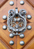 door knocker - photo/picture definition - door knocker word and phrase image
