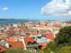 Lisbon old town - photo/picture definition - Lisbon old town word and phrase image