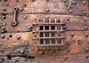 old prison door - photo/picture definition - old prison door word and phrase image