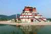 Tibetan building - photo/picture definition - Tibetan building word and phrase image