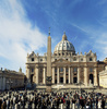 St Peters Basilica - photo/picture definition - St Peters Basilica word and phrase image