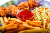 fast food - photo/picture definition - fast food word and phrase image