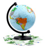 terrestrial globe - photo/picture definition - terrestrial globe word and phrase image