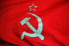 Soviet flag - photo/picture definition - Soviet flag word and phrase image