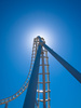 roller coaster - photo/picture definition - roller coaster word and phrase image