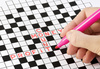 crossword - photo/picture definition - crossword word and phrase image
