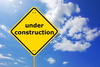 under construction - photo/picture definition - under construction word and phrase image