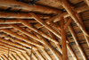 wooden roof - photo/picture definition - wooden roof word and phrase image