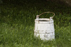 milk bucket - photo/picture definition - milk bucket word and phrase image