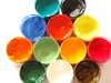 paint buckets - photo/picture definition - paint buckets word and phrase image