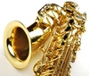 alto saxophone - photo/picture definition - alto saxophone word and phrase image
