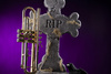 Halloween trumpet - photo/picture definition - Halloween trumpet word and phrase image