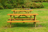 picnic tables - photo/picture definition - picnic tables word and phrase image