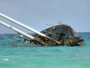 wrecked ship - photo/picture definition - wrecked ship word and phrase image