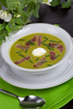 pea soup - photo/picture definition - pea soup word and phrase image