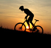 mountain biking - photo/picture definition - mountain biking word and phrase image
