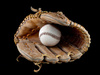 baseball glove - photo/picture definition - baseball glove word and phrase image