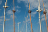 sailing masts - photo/picture definition - sailing masts word and phrase image