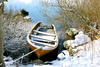 abandoned boat - photo/picture definition - abandoned boat word and phrase image