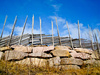 Norwegian fence - photo/picture definition - Norwegian fence word and phrase image