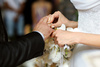 getting married - photo/picture definition - getting married word and phrase image