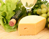 wine and cheese - photo/picture definition - wine and cheese word and phrase image