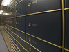safe deposit boxes - photo/picture definition - safe deposit boxes word and phrase image