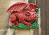 Welsh dragon - photo/picture definition - Welsh dragon word and phrase image