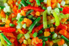 mixed vegetables - photo/picture definition - mixed vegetables word and phrase image