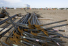 steel rebar - photo/picture definition - steel rebar word and phrase image