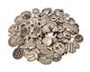 metal buttons - photo/picture definition - metal buttons word and phrase image
