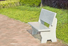 stone bench - photo/picture definition - stone bench word and phrase image