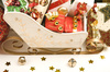 Christmas sleigh - photo/picture definition - Christmas sleigh word and phrase image