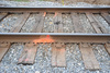 railroad tracks - photo/picture definition - railroad tracks word and phrase image