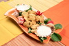 fried mussels - photo/picture definition - fried mussels word and phrase image