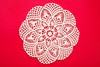 crocheted doily - photo/picture definition - crocheted doily word and phrase image