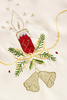 Christmas embroidery - photo/picture definition - Christmas embroidery word and phrase image