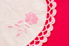 embroidered doily - photo/picture definition - embroidered doily word and phrase image