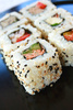 California rolls - photo/picture definition - California rolls word and phrase image