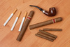 smoking accessories - photo/picture definition - smoking accessories word and phrase image