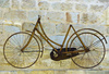 old bicycle - photo/picture definition - old bicycle word and phrase image