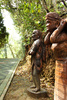 Aborigine statues - photo/picture definition - Aborigine statues word and phrase image