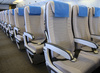airplane interior - photo/picture definition - airplane interior word and phrase image
