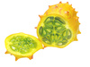 kiwano horned melon - photo/picture definition - kiwano horned melon word and phrase image