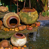 clay pots - photo/picture definition - clay pots word and phrase image