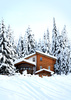mountain house - photo/picture definition - mountain house word and phrase image